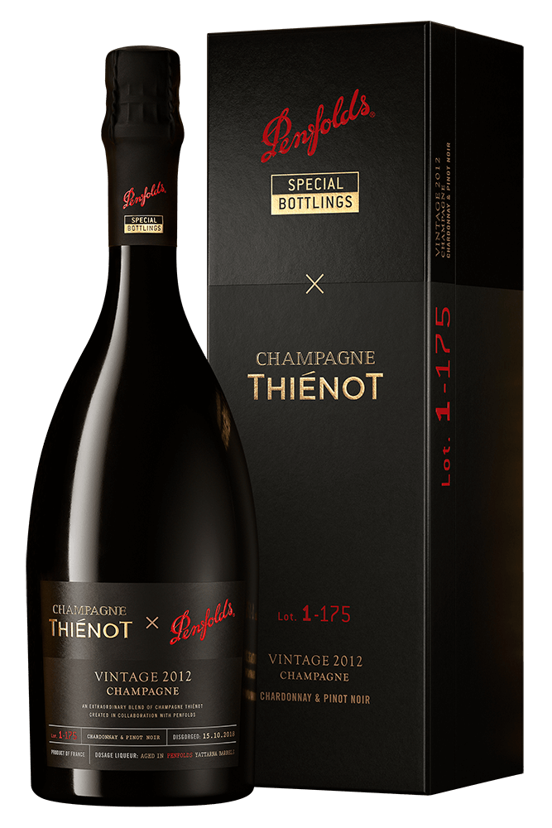 Penfolds : Thienot x Penfolds Chardonnay Pinot Noir Cuvee 2012