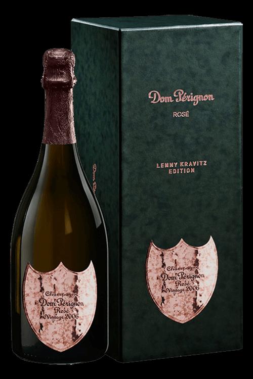 Dom Pérignon : Rosé Vintage Edition Limitée Lenny Kravitz 2006