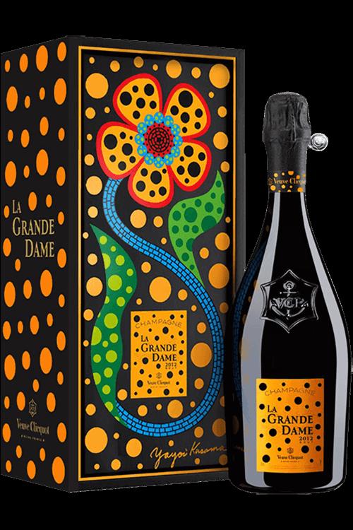 Veuve Clicquot La Grande Dame by Yayoi Kusama 2012