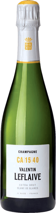 Valentin Leflaive : Extra Brut Blanc de Blancs CA 15 40