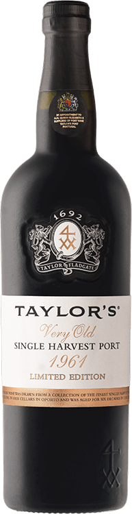 Taylor's : Very Old Single Harvest Port 1961