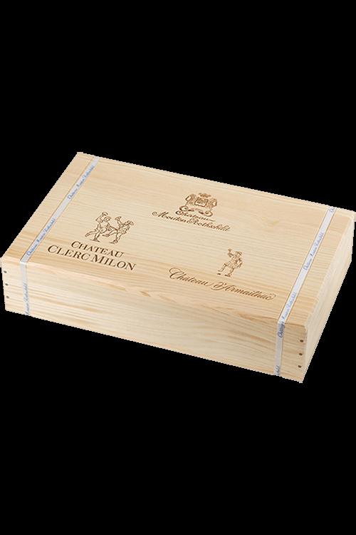 Châteaux Mouton Rothschild Armailhac Clerc Milon Tasting Case