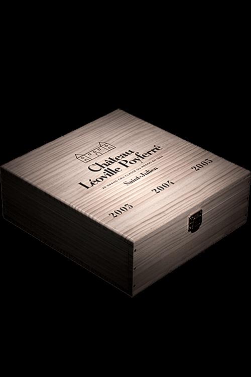 Chateau Leoville Poyferre : Caisse Trilogie