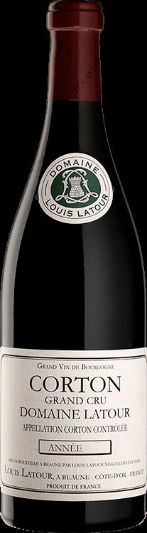 """Louis Latour : Corton Grand cru """"Domaine Latour"""" 2018"""
