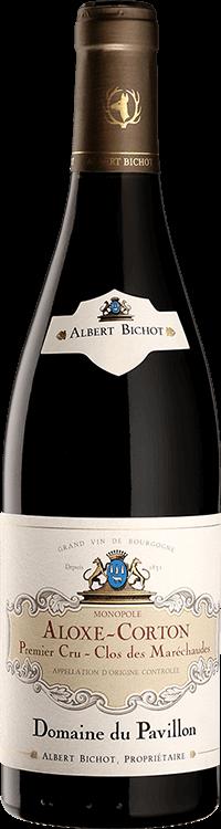 """Albert Bichot : Aloxe Corton 1er cru """"Clos des Maréchaudes"""" Dom. du Pavillon 2018"""