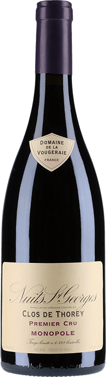 """Domaine de la Vougeraie : Nuits-Saint-Georges 1er Cru """"Clos de Thorey"""" Monopole 2017"""