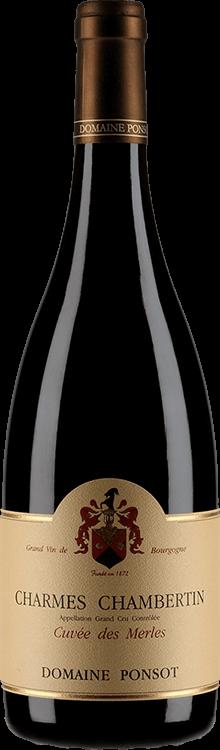 "Domaine Ponsot : Charmes-Chambertin Grand cru ""Cuvée des Merles"" 2007"