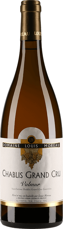 "Domaine Louis Moreau : Chablis Grand cru ""Valmur"" 2003"