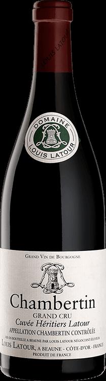 """Louis Latour : Chambertin Grand cru """"Cuvée Héritiers Latour"""" 2016"""