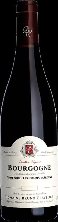 """Domaine Bruno Clavelier : Bourgogne """"Les Champs d'Argent"""" Vieilles Vignes 2015"""