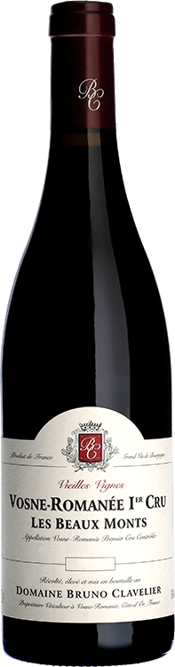 """Domaine Bruno Clavelier : Vosne-Romanee 1er cru """"Les Beaux Monts"""" Vieilles Vignes 2015"""