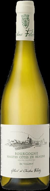 """Gilbert et Christine Felettig : Bourgogne Hautes-Côtes de Beaune """"En Vallerot"""" 2019"""