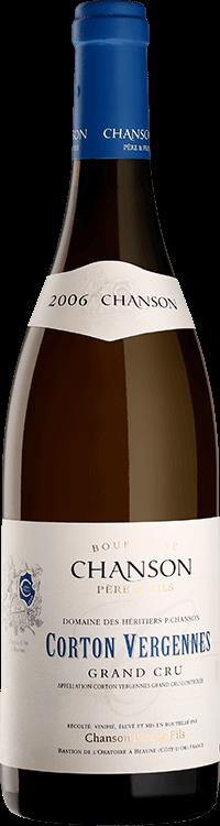 "Chanson : Corton Grand cru ""Vergennes"" Domaine 2006"