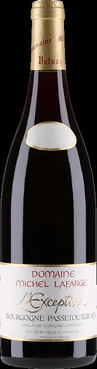 """Domaine Michel Lafarge : Bourgogne Passetoutgrain """"L'Exception"""" 2018"""