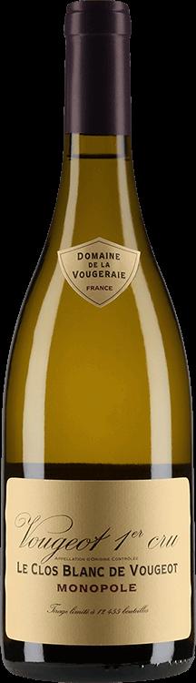 """Domaine de la Vougeraie : Vougeot 1er cru """"Le Clos Blanc de Vougeot"""" Monopole 2018"""