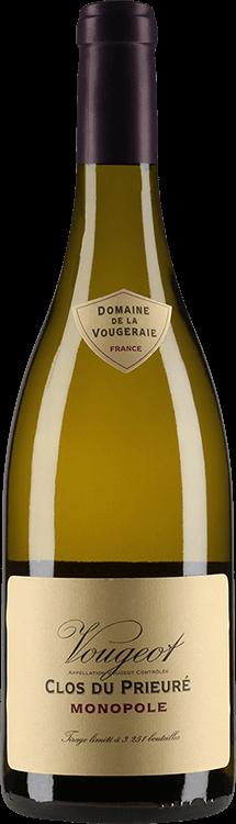 """Domaine de la Vougeraie : Vougeot Village """"Clos du Prieuré Blanc"""" Monopole 2018"""
