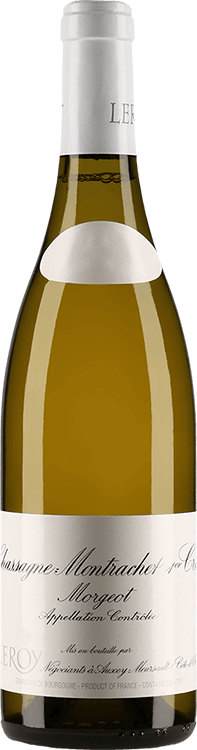 "Leroy : Chassagne-Montrachet 1er cru ""Morgeot"" 2009"