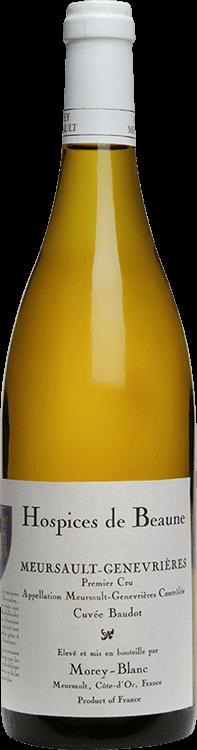 """Morey-Blanc : Meursault 1er cru """"Genevrières - Hospices de Beaune Cuvée Baudot"""" 2016"""