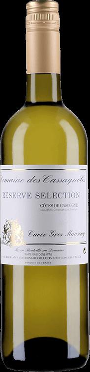 Domaine des Cassagnoles : Reserve Selection - Cuvee Gros Manseng 2019