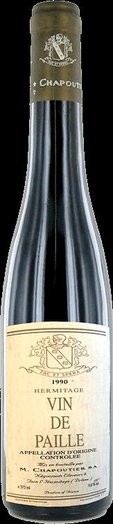 M. Chapoutier : Vin de Paille 1990