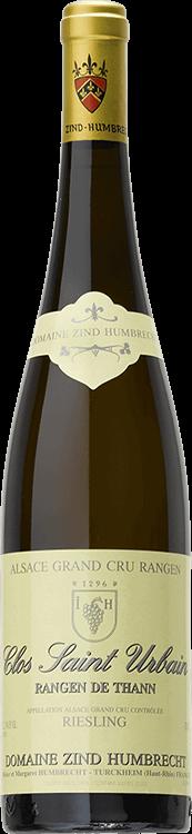 """Domaine Zind-Humbrecht : Riesling Grand cru """"Clos Saint Urbain Rangen de Thann"""" 1999"""