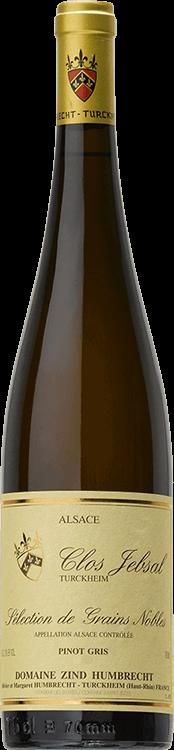 """Domaine Zind-Humbrecht : Pinot Gris """"Clos Jebsal"""" Sélection de Grains Nobles 1998"""