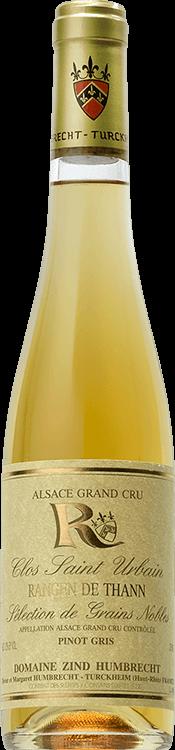 """Domaine Zind-Humbrecht : Pinot Gris Grand cru """"Clos Saint Urbain Rangen de Thann"""" Sélection de Grains Nobles 1998"""
