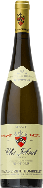 "Domaine Zind-Humbrecht : Pinot Gris ""Clos Jebsal"" Vendanges tardives 1999"