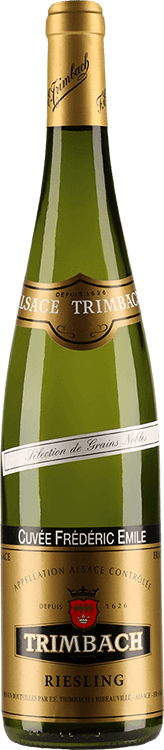 """Maison Trimbach : Riesling """"Cuvée Frédéric Emile"""" Sélection de Grains Nobles 2001"""