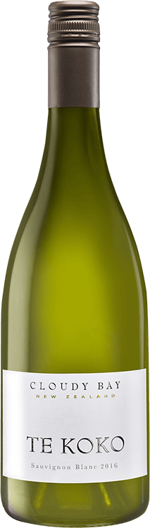 Cloudy Bay : Sauvignon blanc Te Koko 2016