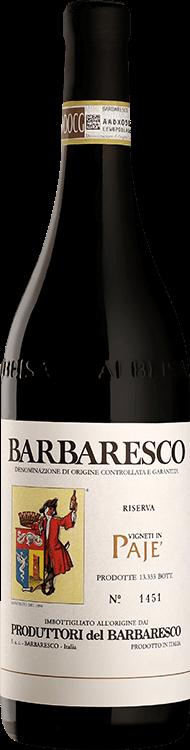 Produttori del Barbaresco : Pajè Riserva 2016
