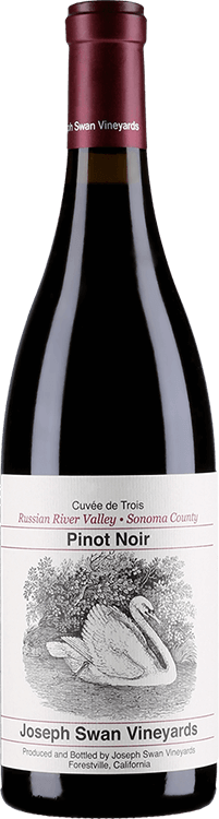 Joseph Swan Vineyards : Cuvee de Trois Pinot Noir 2015