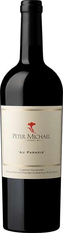 "Peter Michael Winery : ""Au Paradis"" Estate Cabernet Sauvignon 2018"