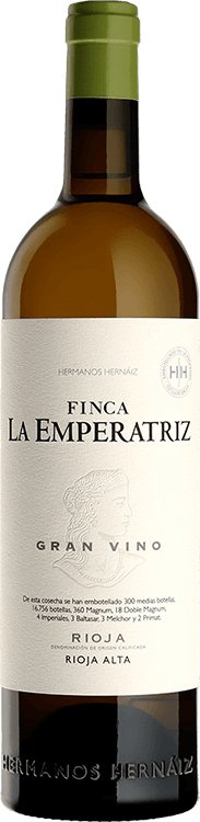 Viñedos Hermanos Hernáiz : Finca la Empératriz Gran Vino Blanco 2016