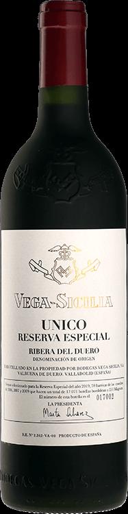 Vega Sicilia : Unico Reserva Especial Venta 2021