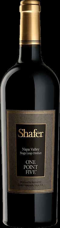 Shafer Vineyards : One Point Five Cabernet Sauvignon 2017