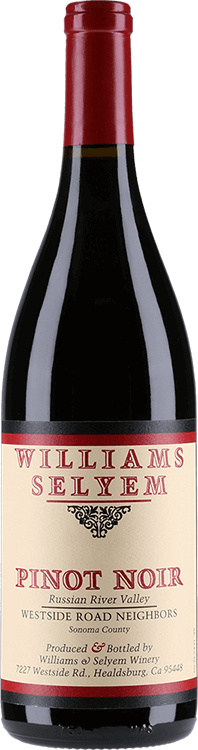 Williams Selyem : Westside Road Pinot Noir 2018
