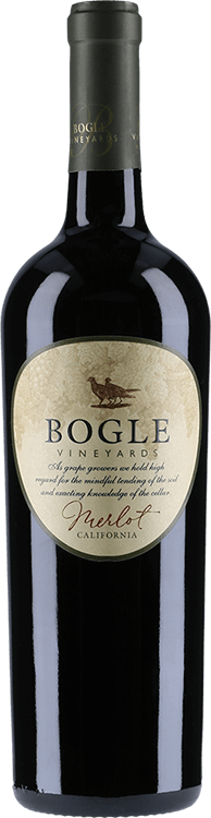 Bogle Vineyards : Merlot 2018