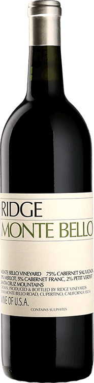 Ridge Vineyards : Monte Bello 2016