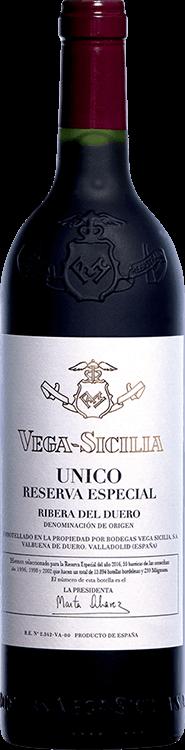 Vega Sicilia : Unico Reserva Especial Venta 2018