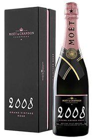 Moët & Chandon : Grand Vintage rosato 2008