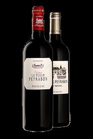 Coffret Magnum Châteaux Peyrabon et La Fleur Peyrabon 2012