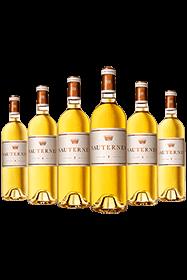 Sauternes de Chateau d'Yquem tasting case