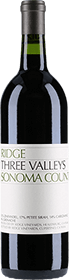 Ridge Vineyards : Three Valley 2018