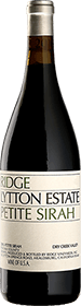 Ridge Vineyards : Lytton Estate Petite Sirah 2017
