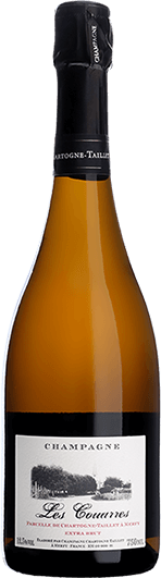 """Chartogne-Taillet : """"Les Couarres"""" Extra Brut Blanc de Noirs 2015"""