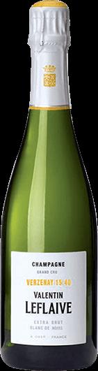 Valentin Leflaive : Extra Brut Blanc de Noirs Verzenay 15 40