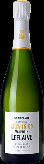 Valentin Leflaive : Extra Brut Blanc de Blancs Mesnil 15 50
