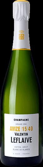 Valentin Leflaive : Extra Brut Blanc de Blancs Avize 15 40