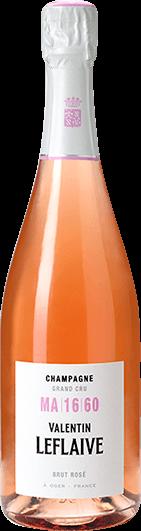 Valentin Leflaive : Brut Rosé MA 16 60